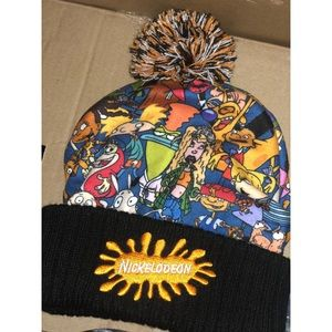 Nickelodeon Accessories - Nickelodeon 90's beanie